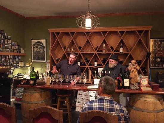 Hopper Creek Winery: The man
