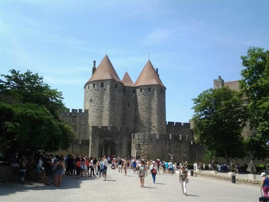 Pont Levis Hotel - Franck PUTELAT: cité de carcassonne