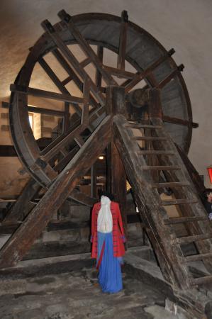 La Citadelle de Mont-Louis : La roue d'origine