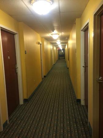 Microtel Inn & Suites by Wyndham Hillsborough: Hallway