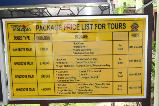 Kuah, Malaysia: price details for the trip