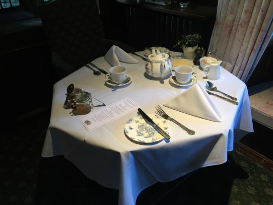 Holdsworth House Hotel u0026 Restaurant Breakfast table setting & Breakfast table setting - Picture of Holdsworth House Hotel ...