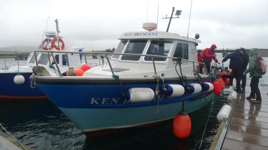 Casey's Skellig Islands Tours: One of Brendan's Boats