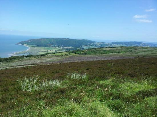 Lyn Holiday Apartments: View of coast from Exmoor..