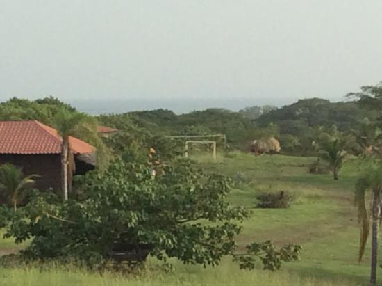 El Viejo, Nicaragua: Restaurant has a great view of the mountians and the ocean