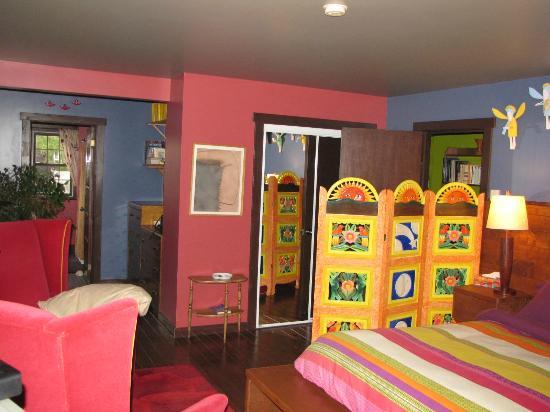 Wanta-Qo-Ti : Notre chambre