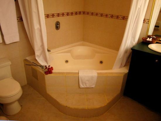 Windsor Hotel: cuarto de baño todos con jacuzzi