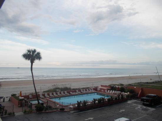 Quality Inn Oceanfront View From Our Room