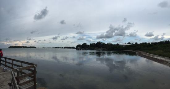 Coquina Baywalk: View