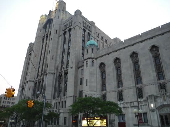 Masonic Temple: It kind of looks like Dracula's castle... or what I imagine Dracula's castle would look like.