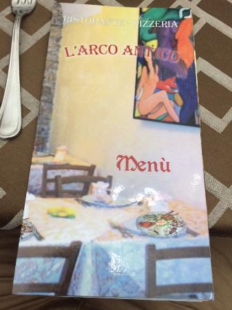 L'Arco Antico: restaurant