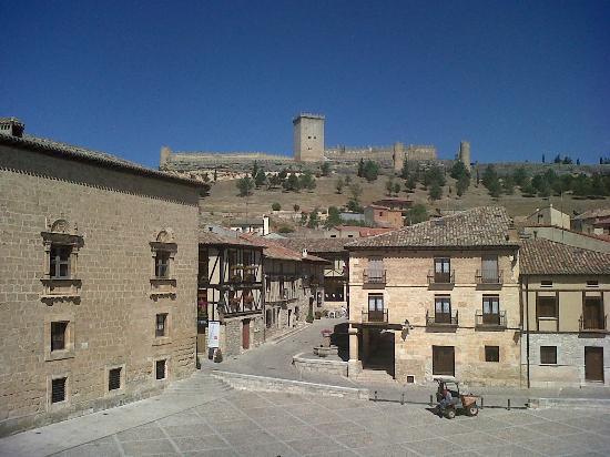 Penaranda de Duero, Spanyol: VISTAS DESDE LA HABITACION