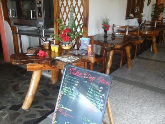 Coco Rouge Take Away and Cafe: take away menu