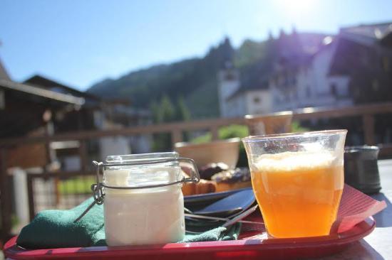 Loc'hotel Alpen'Sports: Petit déjeuner à l'hôtel Alpen sport...