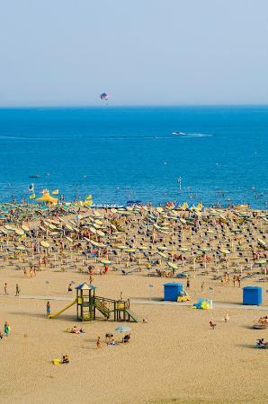 Hotel Golf: Bibione Spiaggia privata GOLF Hotel Bibione