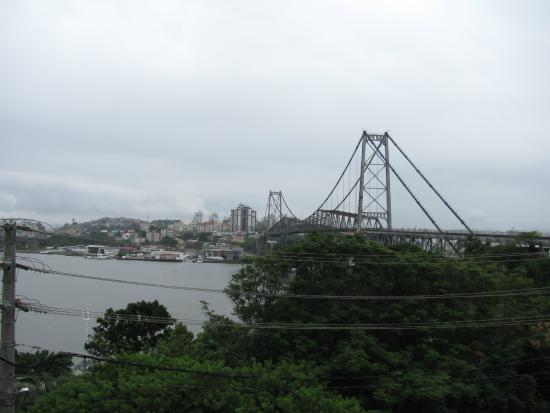 Hercílio Luz, SC: Ponte Hercilio Luz, Santa Catarina, Brasil