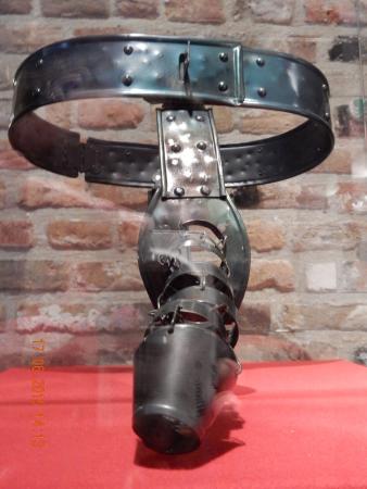 Museum male bondage