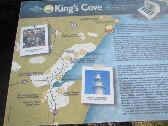 Incredible Map Of Kings Cove Trail Picture Of Kings Cove Lighthouse Download Free Architecture Designs Lukepmadebymaigaardcom