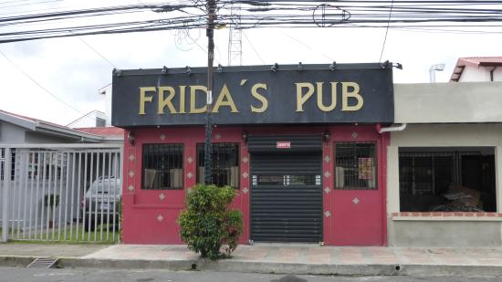 Frida GastroPub: Fun area...none of my inside pictures came out!  It was great, though!