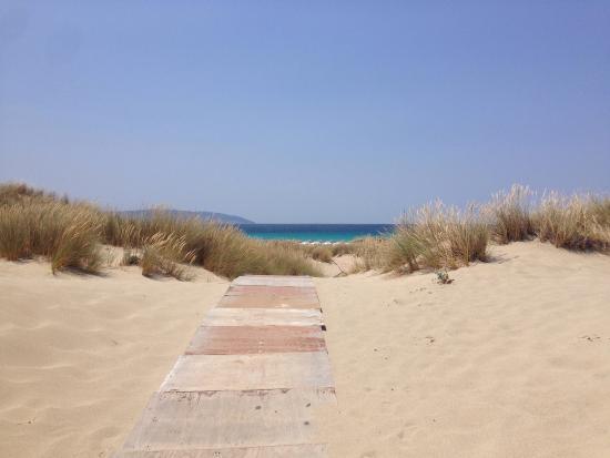Simos Camping: Spiaggia e mare da 10 con lode