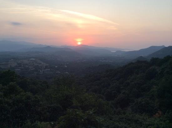 Auberge A Magina: La vista dalla terrazza