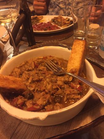 Bar Osteria Bacicio: Il locale, lo stoccafisso, gli assaggi di acciughe