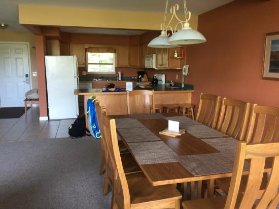 Lake Placid Club Lodges: Well-stocked kitchen