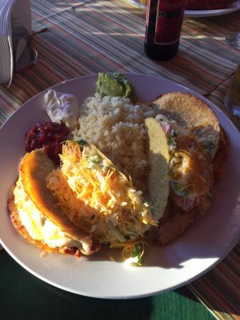 Tacoshell Med Kjøttdeig Kylling Og Ris Bild Von Mamacitas