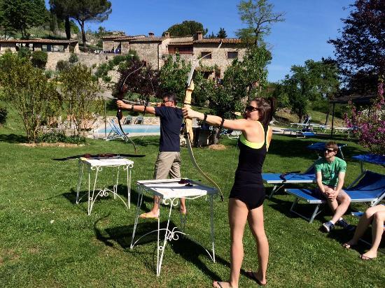 Poderi Val Verde Chianti 3D Archery Range