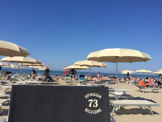 Lungomare e vista spiaggia 73 39 j 39 adore 39 foto di spiaggia 73 riccione tripadvisor - Web cam riccione bagno 81 ...