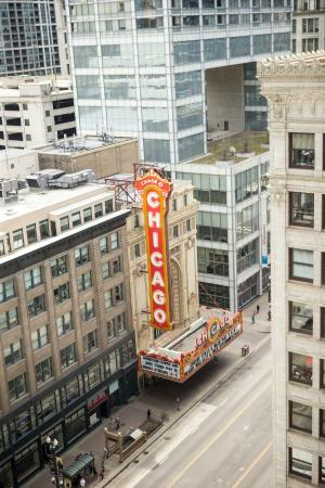 The view picture of renaissance chicago downtown hotel for Top ten hotels in chicago downtown