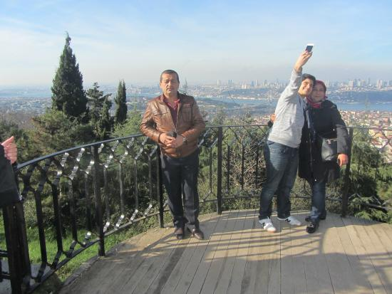 Camlica Hill : here you can see all Istanbul