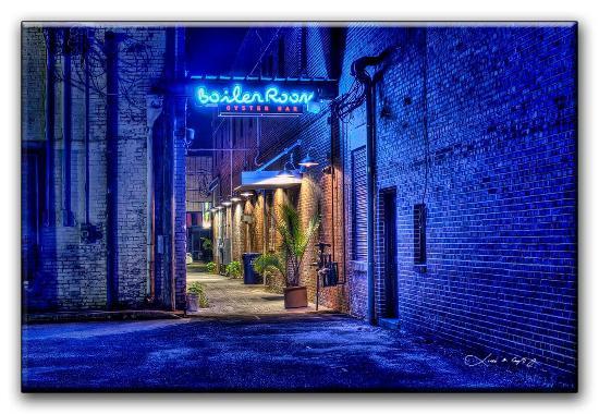 The Boiler Room Oyster Bar: BOiler Room by Dr. Laddie Crisp