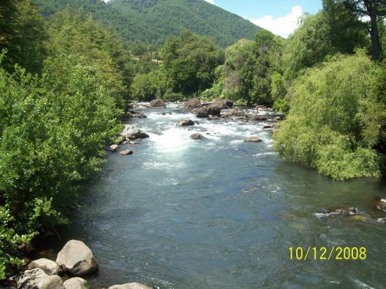 Rotonda del Cautin: Vista del río Cautín