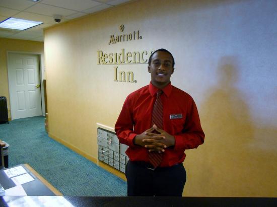 Residence Inn Boston Brockton: Reggie at the front was very helpful