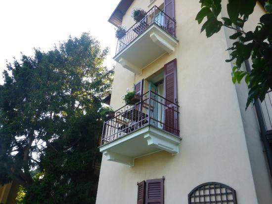 Villa Albonico : Balkon des Zimmers