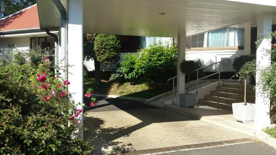 Hotel du Golf: Arrival area