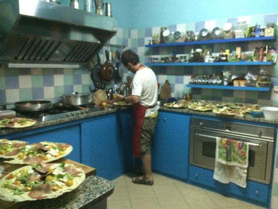 Loris In The Kitchen Picture Of La Fattoria Delle Tartarughe Sinnai Tripadvisor