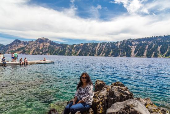 wizard island Find reviews and tips from people like you on wizard island boat tour dock  crater lake, oregon 'during the summer, you can jump into the.