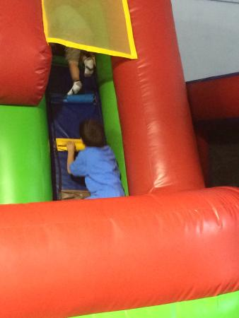 Destination Fun : We went so our son could have some fun and out of the rain. It was expensive but our older ones