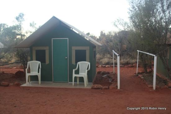 Kings Creek Station: One of the tent huts
