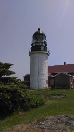 Seguin Island and Lighthouse: Seguin Island Lighthouse