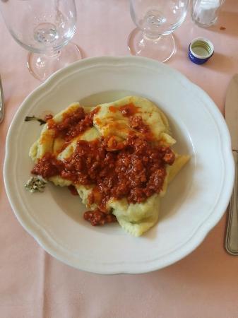 Ristorante Macchiascandona: Tortelli Maremmani