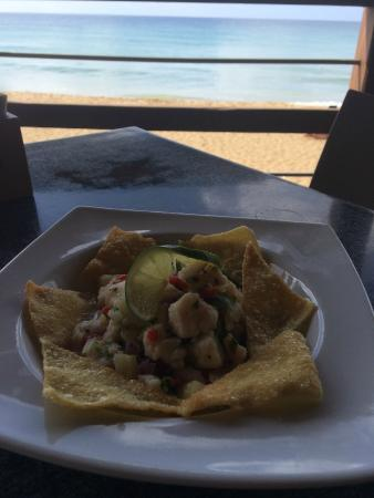 Beside The Pointe Inn: Ceviche at Tamboo