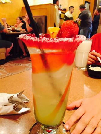 Campestre Mexican Grill: Tasty Margarita!