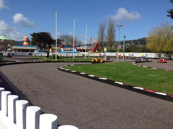Minehead, UK: Petrol Karts (single or double seaters)