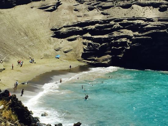how to get to green sand beach hawaii