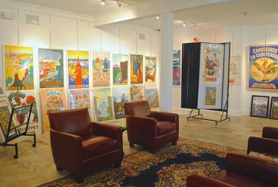 The Historic Island Dairy: Art Gallery / Vintage Posters