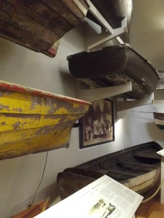 Lake Champlain Maritime Museum: different boats through the ages