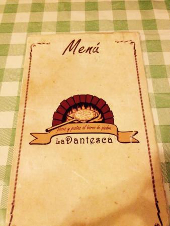 La Dantesca : Pizza!